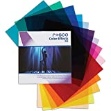 Rosco Color Effects Filter Kit, 12 x 12'' Sheets