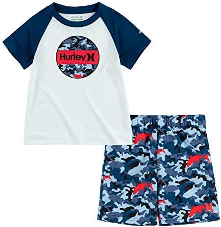 ボーイズ グラフィックTシャツと水着 2ピースセット