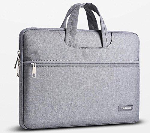 Price comparison product image Mina Tie Men Women Portable Notebook Handbag Air Pro 15.6 Laptop Bag (Grey)