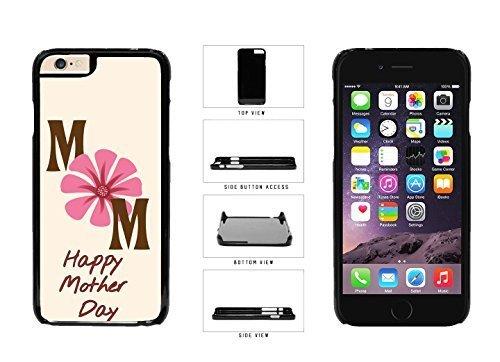 Feliz día de la madre – flores mamá luz de fondo rosa plástico teléfono móvil Carcasa