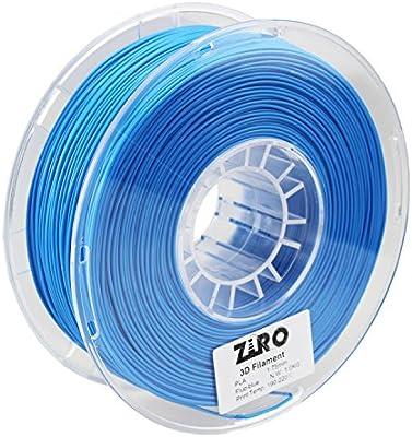 Filamento de impresora 3D ZIRO PLA 1.75 1 kg (2.2 libras ...