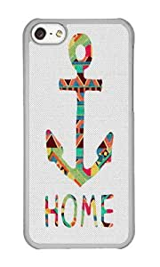 Apple Iphone 5C Case,WENJORS Awesome you make me home Hard Case Protective Shell Cell Phone Cover For Apple Iphone 5C - PC Transparent