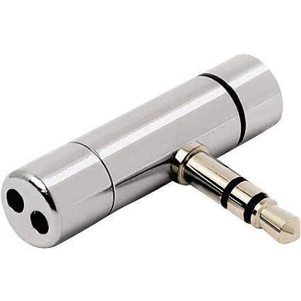 Mini micrófono metálico para cámaras de vigilancia con entrada de audio (compatible con foscam)
