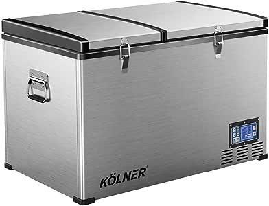 Kolner 125L Portable Fridge Cooler Freezer Camping Car Refrigerator