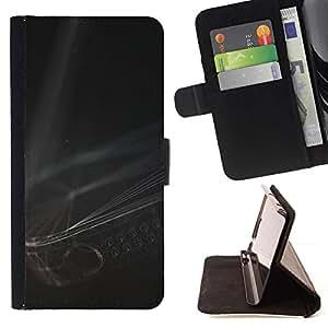 LG Magna / G4C / H525N H522Y H520N H502F H500F (G4 MINI,NOT FOR LG G4)Case , Arte Moderno Cuerdas Negro Blanco- la tarjeta de Crédito Slots PU Funda de cuero Monedero caso cubierta de piel