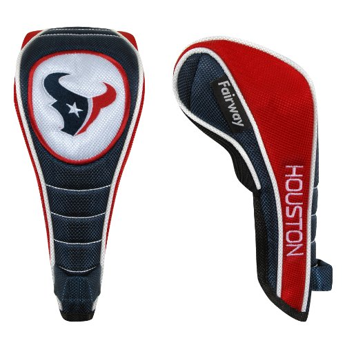 McArthur Houston Texans Shaft Gripper Fairway Headcover
