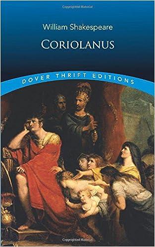 coriolanus dover thrift editions