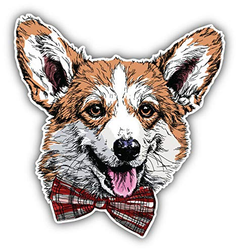 Magnet Pembroke Welsh Corgi Dog Head Vinyl Magnet Bumper Sticker Magnet Flexible Vinyl Magnetic 5