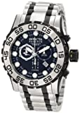 Invicta Men's 0814 Reserve Chronograph Black Dial Stainless Steel Watch