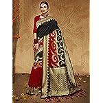VANI CREATION Milti Color Silk Sarees Women's Soft Kanjivaram Banarasi Katan Silk Saree