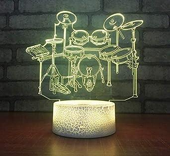 Lumière Chambre Illusion Nuit Vision Lampe Divertissement Couple FK1lJc