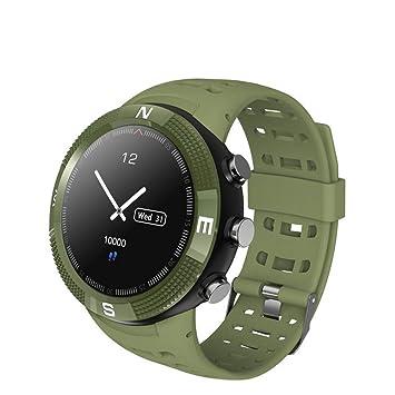 Dingmart Smartwatch GPS podómetro IP68 Resistente al Agua Llamada ...