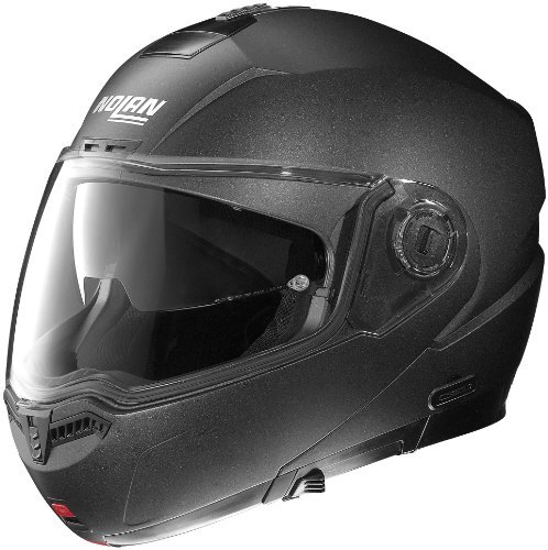Nolan N104 Helmet (Black Graphite, Medium)