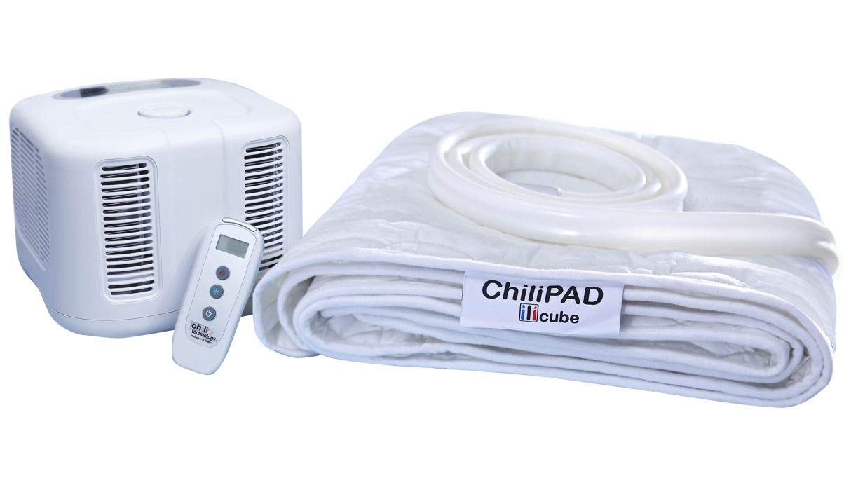 ChiliPad Cube 2.0 - Single and Dual Zones - Cooling and Heating Mattress Pad - Individual Temperature Control, Great Sleep Enhancement, Wireless Remote Integration (Single (75'' L x 30'' W))