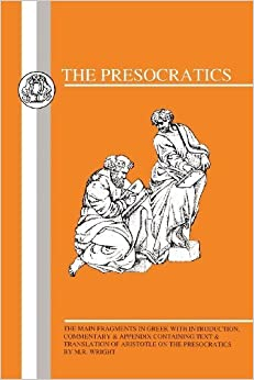 Book Presocratics: Main Fragments (Greek Texts) (1991-06-01)