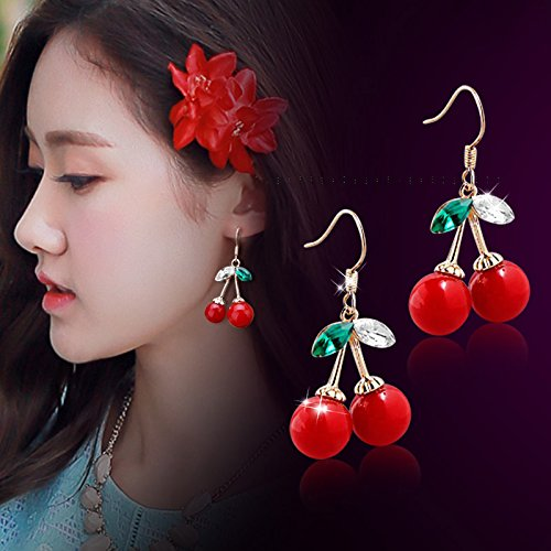 Ja and South Korea pearl earrings female zircon ear clip earrings daisy flower earrings flower earrings ear acupuncture sided crystal ball