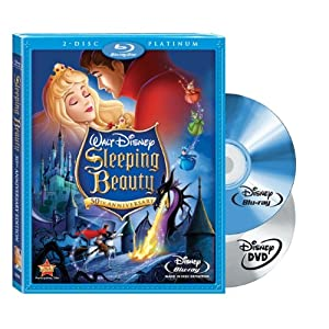 Sleeping Beauty (Two-Disc Platinum Edition Blu-ray/DVD Combo + BD Live) [Blu-ray] (1959)