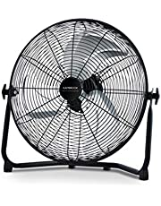 Kambrook Arctic High Velocity Floor Fan, Black