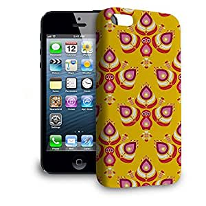 Phone Case For Apple iPhone 5 - Peacocks India Inspired Premium Wrap-Around by lolosakes