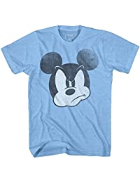 Mad Mickey Mouse Adult Mens T-shirt