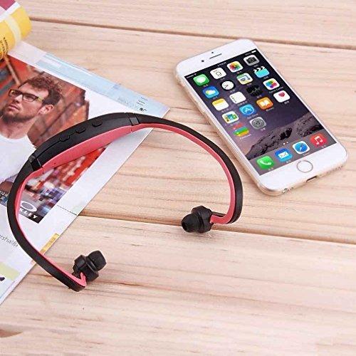 USB Sport Running MP3 Music Player Wireless Headset TFSlot - 1