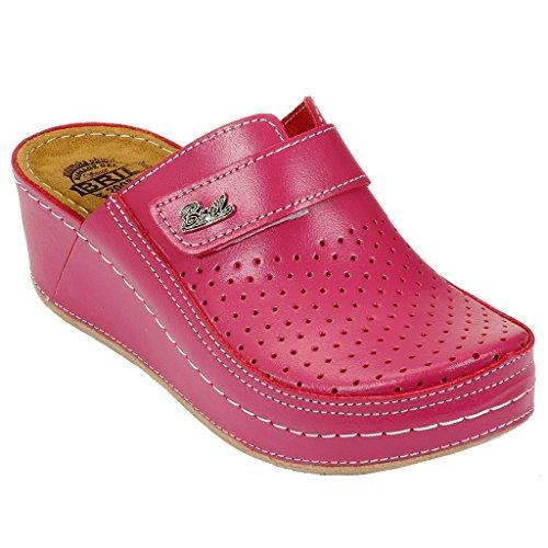 Punto Sabot Rosa Dr Scarpe Bril Pelle D130 Pantofole Rosso Zoccoli Donna  dvwxOPqXw e8e7d380151