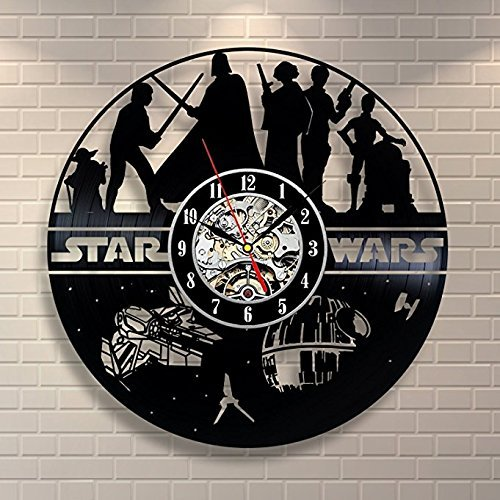Star Wars Vinyl Record Wall Clock <br> Style 2