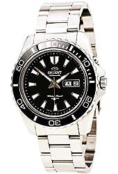 Orient Men's Black Mako XL Automatic Dive Watch CEM75001B