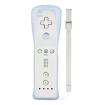 Pekyok XW17 Mando a distancia de Wii, Mando a distancia inalámbrico con estuche de silicona
