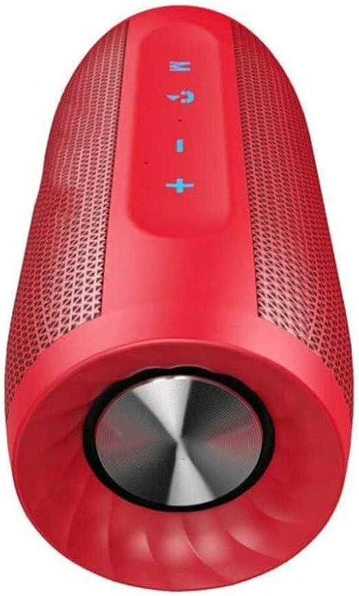 TD Micro Altavoz Altavoz Bluetooth inalámbrico Bajo portátil Sonido Exterior (Color : Red): Amazon.es: Jardín