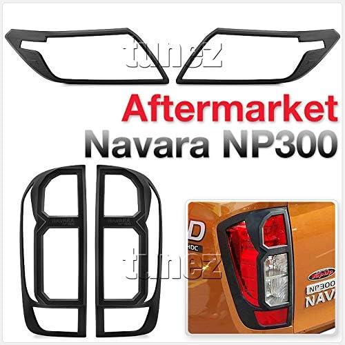 Tunez Scheinwerfer Und Rücklichtschutz Für Navara Np300 D23 2015 2019 Deckelabdeckung Rückleuchtenabdeckung Auto