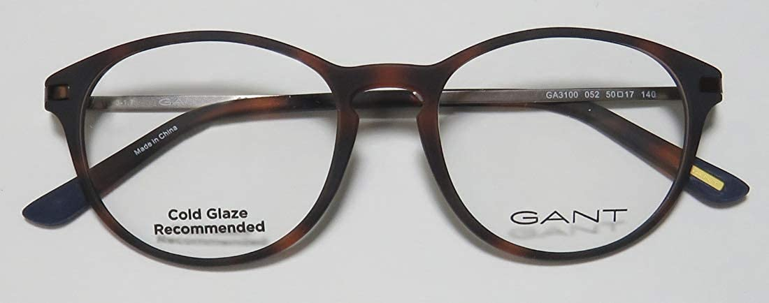 bf6a4265982 Gant GA3100 Eyeglasses 50 052 Dark Havana at Amazon Women's Clothing store: