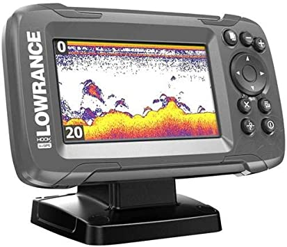 62120300 Lowrance Hook2-4x Eco con trasduttore Bullet Skimmer ROW 000-14013-001