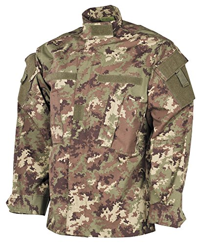 USA chaqueta de campo, ACU, Acanalado - Nightcamo, XL Vegetato Woodland