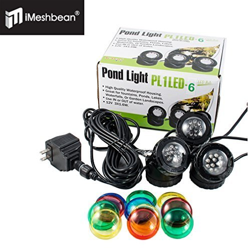 iMeshbean® JeBao Submersible LED 3 Light Pond Light Kit by i-mesh-bean