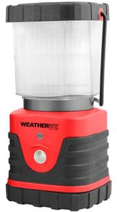WeatherRite LED Red 300 Lumen Lantern-6005 - The Home Depot