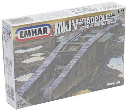 "Emhar WWI British Mk.IV ""Tadpole"" Tank with Rear Mortar -..."