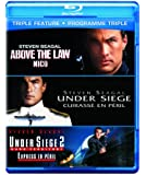 Triple Feature: Above the Law/ Under Siege/ Under Siege 2 [Blu-ray] (Bilingual)