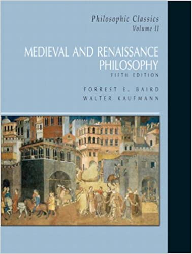 Amazon philosophic classics volume ii medieval philosophy philosophic classics volume ii medieval philosophy 5th edition fandeluxe Images