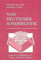 Von deutscher Sondergotik