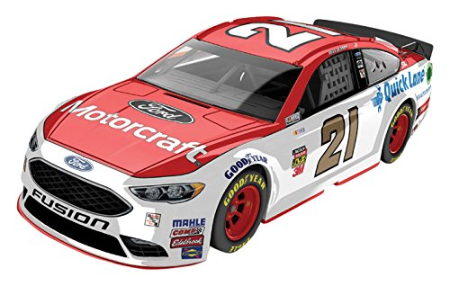 Lionel Racing Ryan Blaney #21 Motorcraft 2017 Ford Fusion 1:64 Scale ARC HT Official Diecast of the NASCAR Cup Series. by Lionel Nascar Collectables