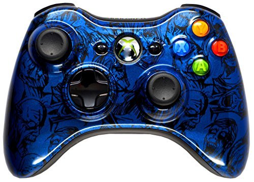 BLUE ZOMBIE 5000+ Modded Xbox 360 Controller, Works with all games Including COD Black Ops 3