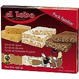 Pack de Turrones Familiar El Lobo 550g | Turrón de Jijona, Turrón de Alicante
