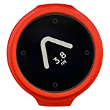 Beeline – Smart Compass Navigation for Bikes – Bluetooth GPS Bicycle Computer, Waterproof and Wireless – Hot Coal Red