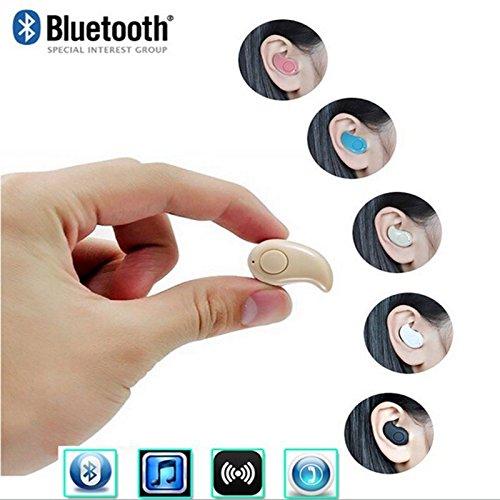 Auricolare Bluetooth Mini S530 senza fili stereo auricolari per cuffie auricolari Supporto per chiamate libere per iPhone Smartphone Samsung nero