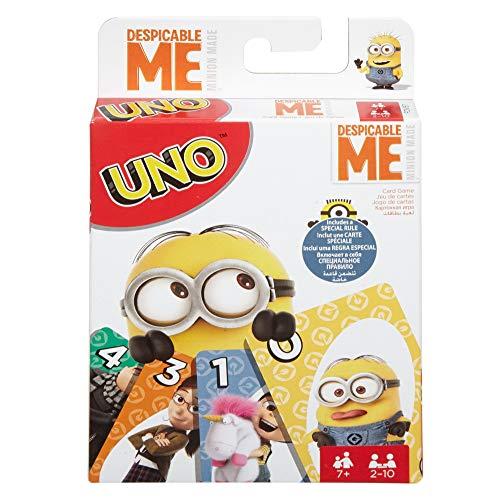 Mattel Games UNO Despicable Me Card Game