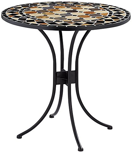 Penfield Round Mosaic Outdoor Bistro Table Tables