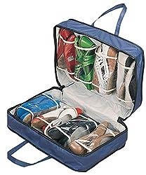 Walterdrake Blue Shoe Storage Travel Bag