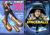 Goofball Comedy Collection - Spaceballs & Naked Gun 2 1/2: The Smell of Fear double feature DVD Bundle