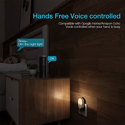 Lefun Smart Plug WiFi Outlets Night Light with Timer Remote Individual Control, Work with Alexa/Google Home/Ifttt by LeFun (Image #6)